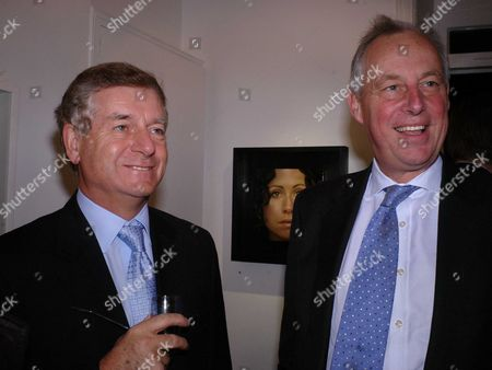 Private View at Eleven 11 Eccleston Street Sir Nick Lloyd and Tim Yeo Mp