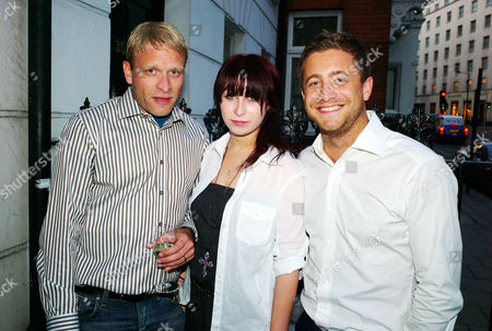 Private View at Scream Gallery Bruton Street Mayfair Jamie Wood Anna Abramovich and Tyrone Wood