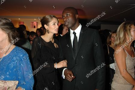 The Red Cross Ball 2005 H20 the Element of Life Ball at the Room by the River Upper Ground London Ozwald Boateng with His Wife