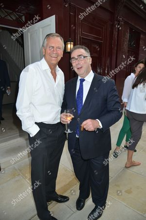 Stock Picture of A Preview For Prospective Members of Robin Birley's New Club 5 Hertford Street Shepherds Market Mayfair London Charles Delevigne & Peter Rosengard