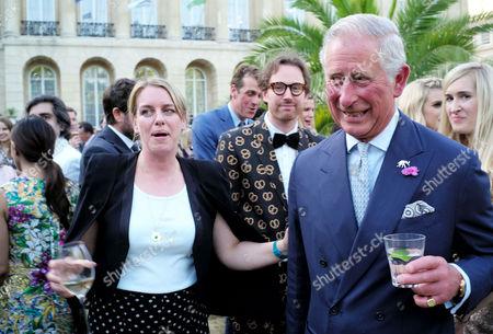Royal Rickshaw Reception and Auction at Lancaster House Laura Lopes and Charles Duke of Cornwall