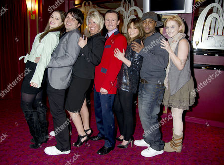 Editorial photo of S Club 7 Reunion As Former Member Jon Lee Joins the Cast of Jersey Boys - 29 Mar 2011
