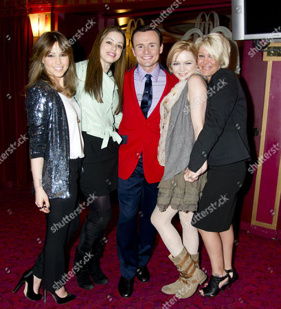 Editorial picture of S Club 7 Reunion As Former Member Jon Lee Joins the Cast of Jersey Boys - 29 Mar 2011