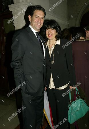 Second Fortune Forum the Summit Gala Dinner at the Law Courts the Strand Christiane Amanpour with Her Husband James Rubin
