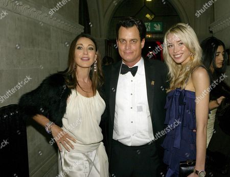 Second Fortune Forum the Summit Gala Dinner at the Law Courts the Strand Tamara Mellon Matthew Mellon and Noelle Reno