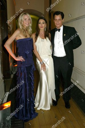 Second Fortune Forum the Summit Gala Dinner at the Law Courts the Strand Noelle Reno Tamara Mellon and Matthew Mellon