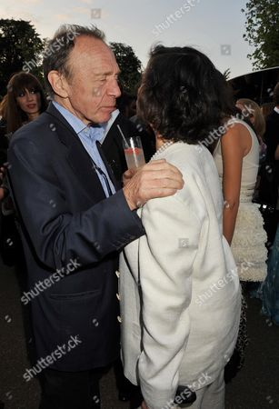 Serpentine Gallery Summer Party 2009 Kensington Gardens Anthony Haden Guest and Bianca Jagger