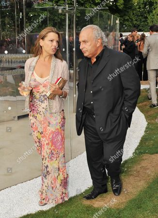 Serpentine Gallery Summer Party 2009 Kensington Gardens Philip Green with His Pa Tania Foster Brown