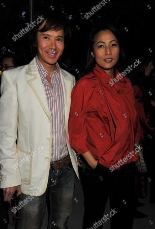 Serpentine Gallery Summer Party 2009 Kensington Gardens Andy and Patti Wong