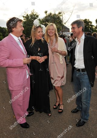 Serpentine Gallery Summer Party 2009 Kensington Gardens Danny Moynihan Katrine Boorman Lady Helen Taylor and Tim Taylor