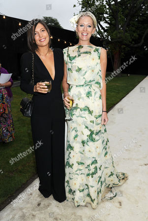 Serpentine Summer Party 2011 Co-hosted by Burberry at the Serpentine Gallery Kensington Gardens Amanda Shepherd and Sophia Hesketh
