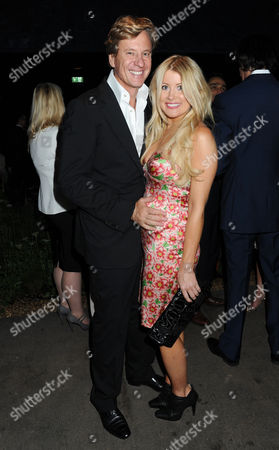 Serpentine Summer Party 2011 Co-hosted by Burberry at the Serpentine Gallery Kensington Gardens Rob Hersov with His Wife Katie James