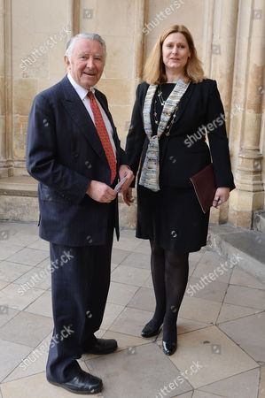 A Service to Celebrate the Life and Work of Sir David Frost at Westminster Abbey Lord David Steele and Sarah Brown