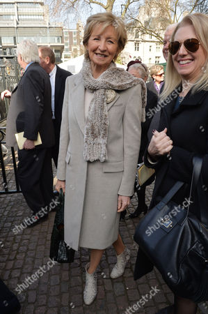 A Service to Celebrate the Life and Work of Sir David Frost at Westminster Abbey Sue Lawley
