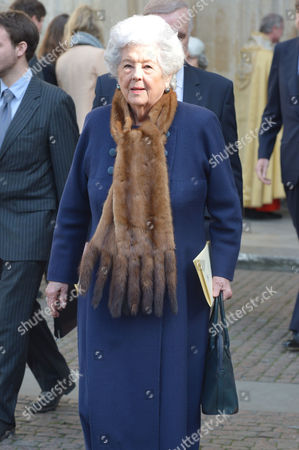 A Service to Celebrate the Life and Work of Sir David Frost at Westminster Abbey Betty Boothroyd