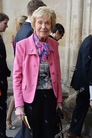 A Service to Celebrate the Life and Work of Sir David Frost at Westminster Abbey Joan Morecambe (wife of Eric Morecambe)