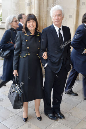 A Service to Celebrate the Life and Work of Sir David Frost at Westminster Abbey Ken and Barbara Follett
