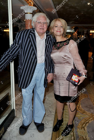 Southbank Sky Arts Awards at the Dorchester Hotel Park Lane Ken Russell and Lisi Tribble