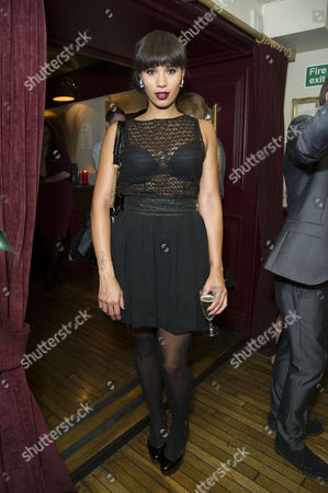 Spamalot Press Night After Party at Walkers of Whitehall Javine Hylton