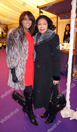 St Pauls Church Knightsbridge Foundation Carol Service Jackie St Clair with Her Mother