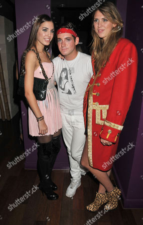 Tatler Little Black Book Party at Chinawhite Winsley Street London Amber Lebon Richard Dennen & Sabrina Percy