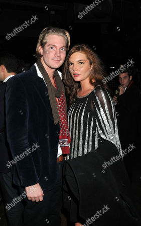 Tatler Little Black Book Party at Chinawhite Winsley Street London Alex Nall-cain with His Sister Antalya Nall-cain
