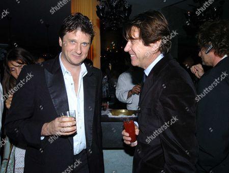 Tatler Summer Party at the Baglioi Hotel Kensington Lord John Somerset & Bryan Ferry