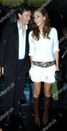 Tatler Summer Party at the Baglioi Hotel Kensington Lord John Somerset & Rose Hanbury