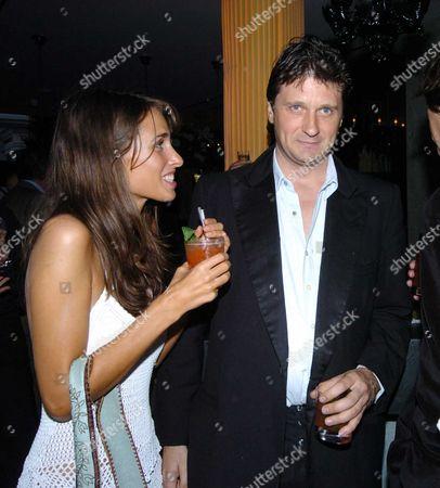 Tatler Summer Party at the Baglioi Hotel Kensington Marina Hanbury & Lord John Somerset