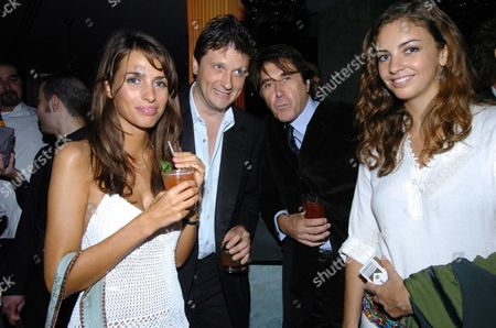 Tatler Summer Party at the Baglioi Hotel Kensington Marina Hanbury Lord John Somerset Bryan Ferry & Rose Hanbury