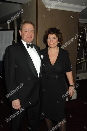 the 2007 Laurence Olivier Awards at the Grosvenor House Hotel Park Lane Lee Menzies with His Wife