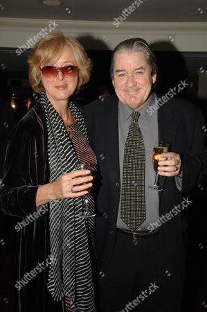 the 2007 Laurence Olivier Awards at the Grosvenor House Hotel Park Lane Maria Aitken with Her Husband Patrick Mcgrath
