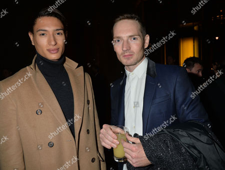 The 2014 Stonewall Awards at the V & A Museum Cromwell Road London Nat Weller & Dan Gillespie Sells