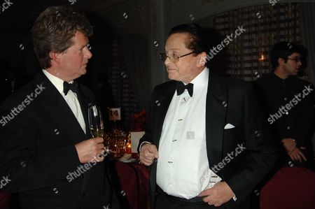 The Cartier Racing Awards Held at the Four Seasons Hotel Hamilton Place London Guy Sangster & Alec Wildenstein