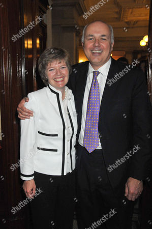 the Centre For Social Justice Awards 2010 at J P Morgan Asset Management Victoria Embankment Iain Duncan-smith with His Wife Betsy Duncan-smith
