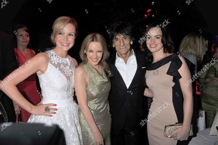 the Glamour Awards After Party Berkeley Square Gardens Amanda Holden Kylie Minogue Ron Woods & Sally Humphries