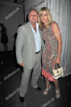 the Glamour Awards After Party Berkeley Square Gardens Gary Farrow & Jane Moore