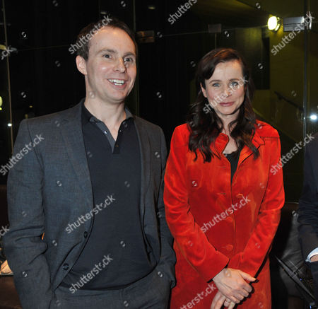 The London Gala Screening of Oranges and Sunshine at Bfi Southbank London Jim Loach with Emily Watson