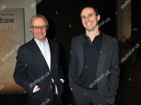 The London Gala Screening of Oranges and Sunshine at Bfi Southbank London Ken Loach with His Son the Film's Director Jim Loach