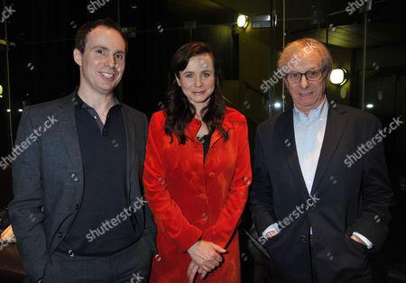 The London Gala Screening of Oranges and Sunshine at Bfi Southbank London Jim Loach Emily Watson & Ken Loach