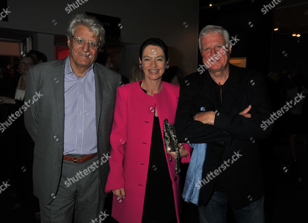 The Pavilion of Art & Design London Private Preview Berkeley Square London Dr Gert-rudolf Flick (muck) with His Wife Jeannette and His Brother Dr Friedrich-christian Flick (mick)