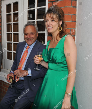 The Spectator Summer Party at Their Office in Old Queen Street Westminster Taki Theodoracopulos & Petronella Wyatt