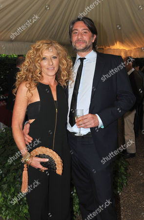 Stock Image of The Spectator Summer Party at Their Office in Old Queen Street Westminster Kelly Hoppen & Adam Meiklejohn