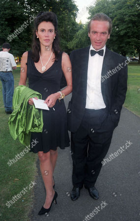 Isabel Fonseca with Her Husband Martin Amis
