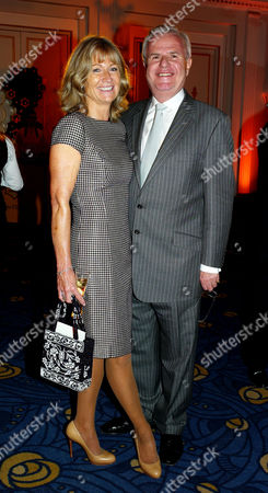 Veuve Clicquot Business Woman of the Year at Claridge's Hotel Mayfair Lord Paul Myners with His Wife Alison