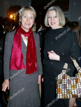 Veuve Clicquot Business Woman of the Year at Claridge's Hotel Mayfair Virginia Bottomley Baroness Bottomley of Nettlestone and Rt Hon Theresa May Mp Secretary of State For the Home Department and Minister For Women and Equalities