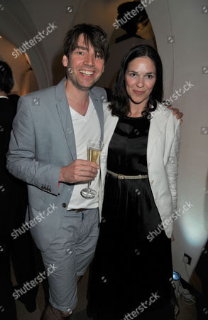 Women For Women - Gala and Awards Ceremony Banqueting House Whitehall London Alex James with His Wife Claire Neate