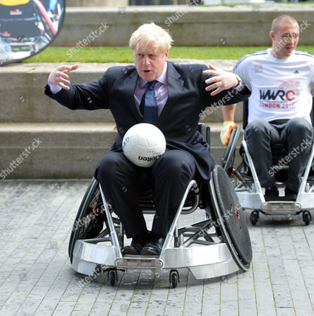 Editorial picture of World Wheelchair Rugby Challenge.