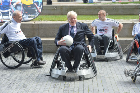 Editorial photo of World Wheelchair Rugby Challenge.