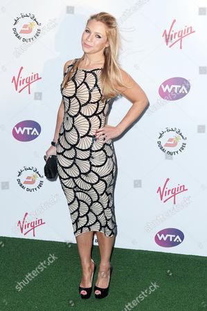 Women's Tennis Association Pre-wimbledon Party at the Kensington Roof Gardens Millie Clode